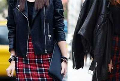 格子短裙怎么搭配 盘点冬天格子短裙搭配什么外套
