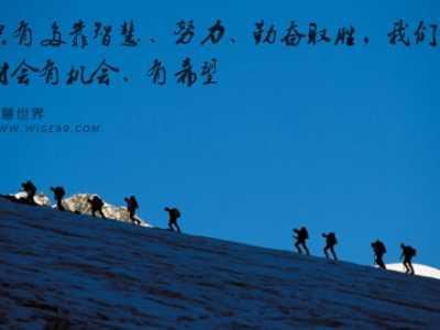 马云说创业要的是智慧 成功要依靠你的智慧、努力和勤奋