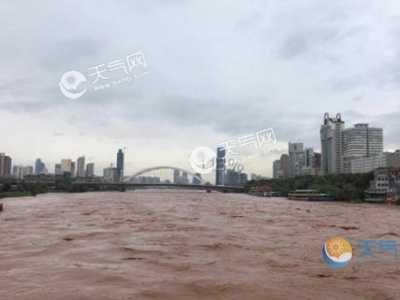 兰州黄河最新消息 昨日黄河出现2019年第2号洪水