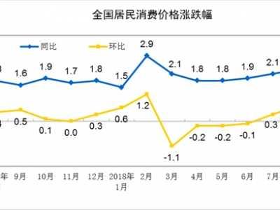 8月cpi 8月份CPI同比上涨2.3%