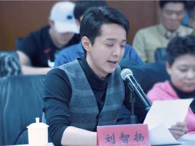 刘智扬 《最美的青春》在京热拍